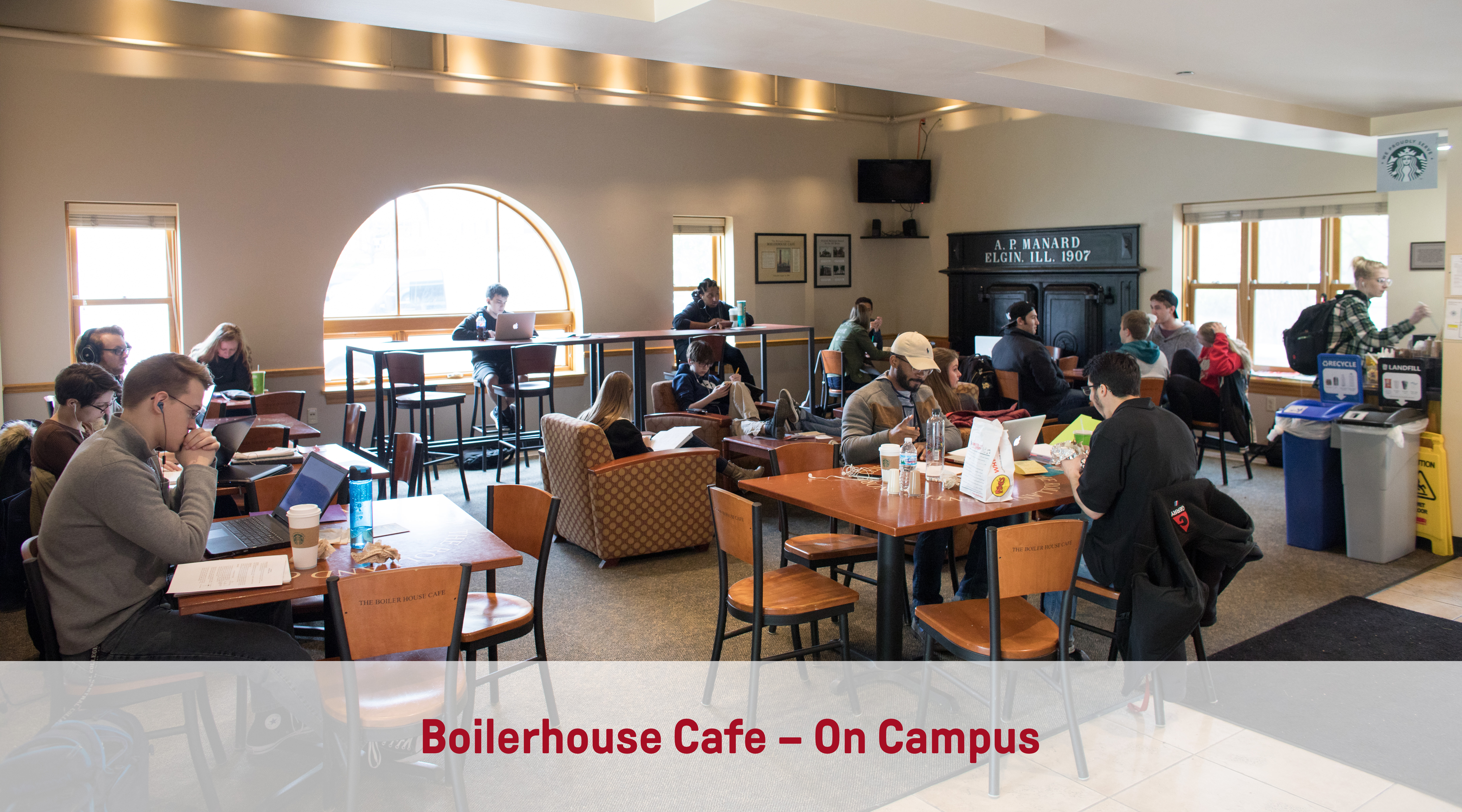 Boilerhouse Cafe | On-Campus