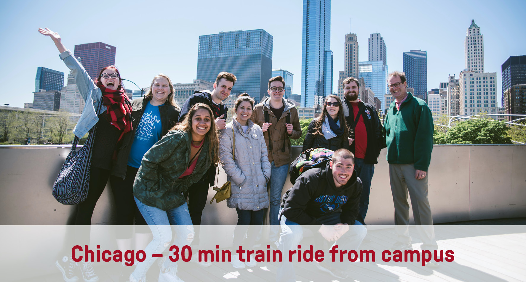 Chicago | 30min train ride from campus
