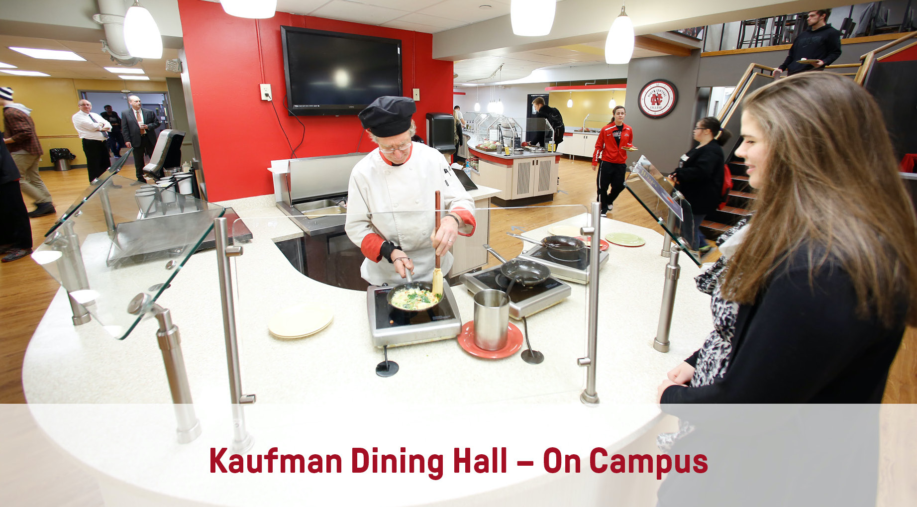 Kaufman Omelette Bar | On-Campus