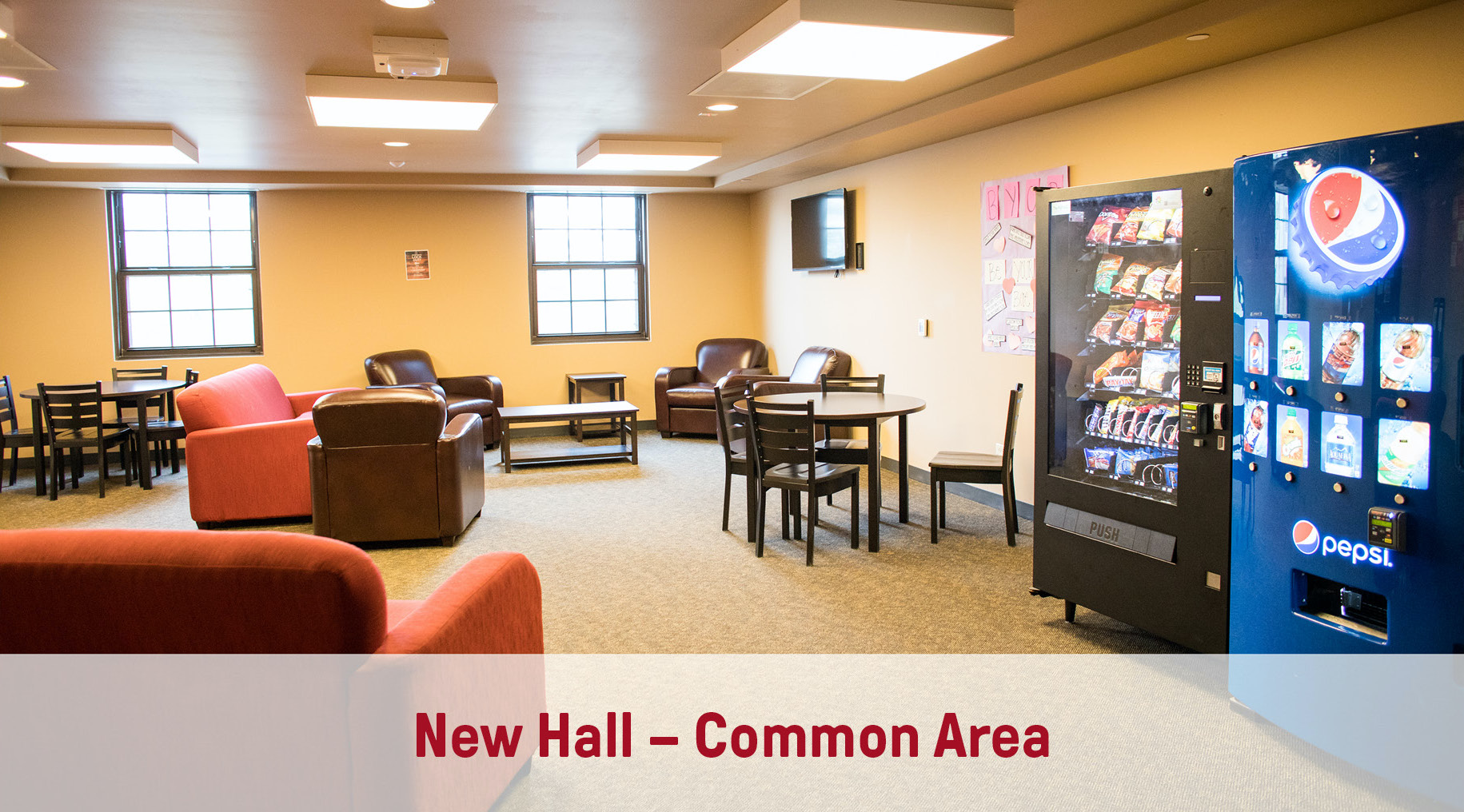 New Hall | Suite-Style Common Area
