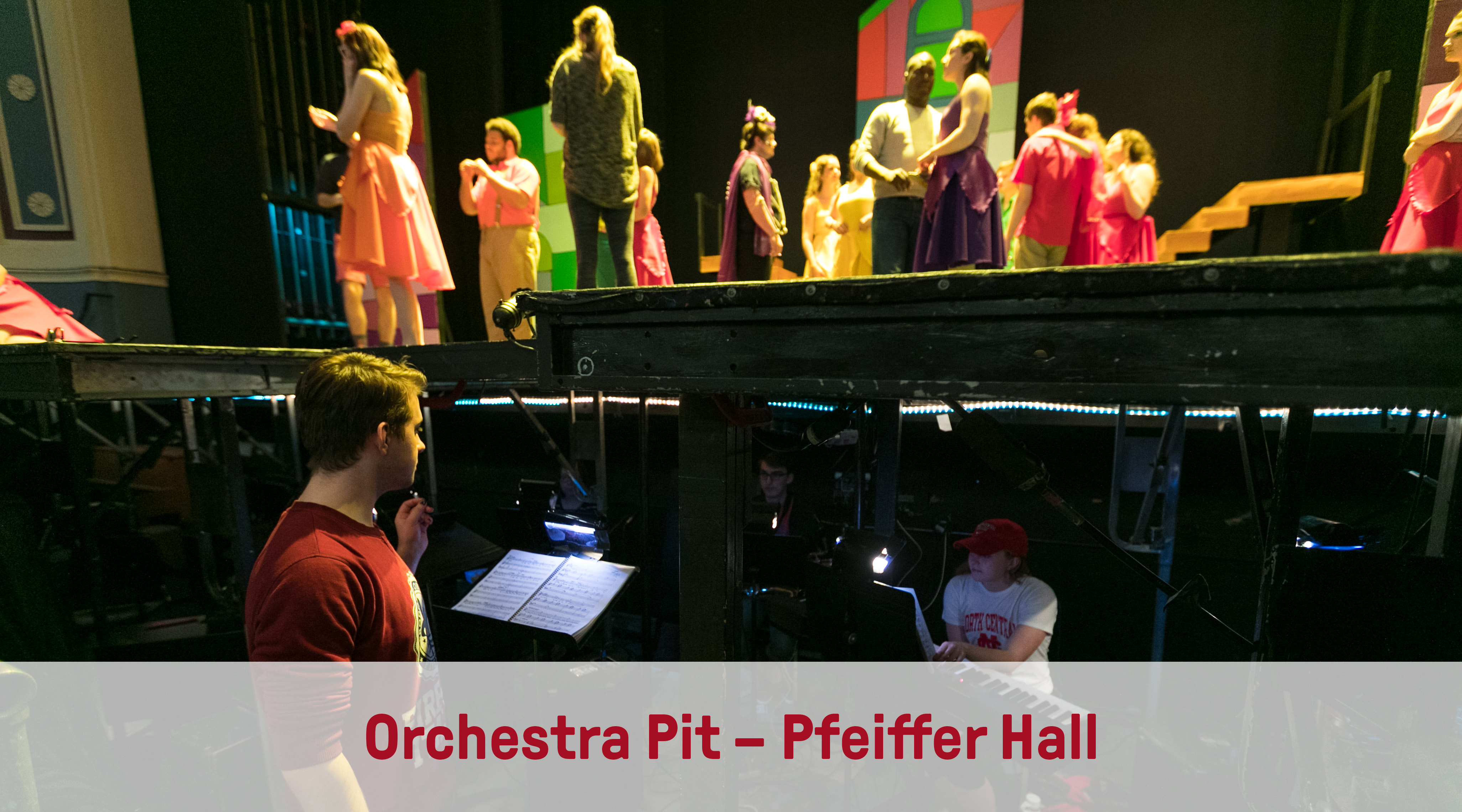 Orchestra Pit – Pfeiffer Hall