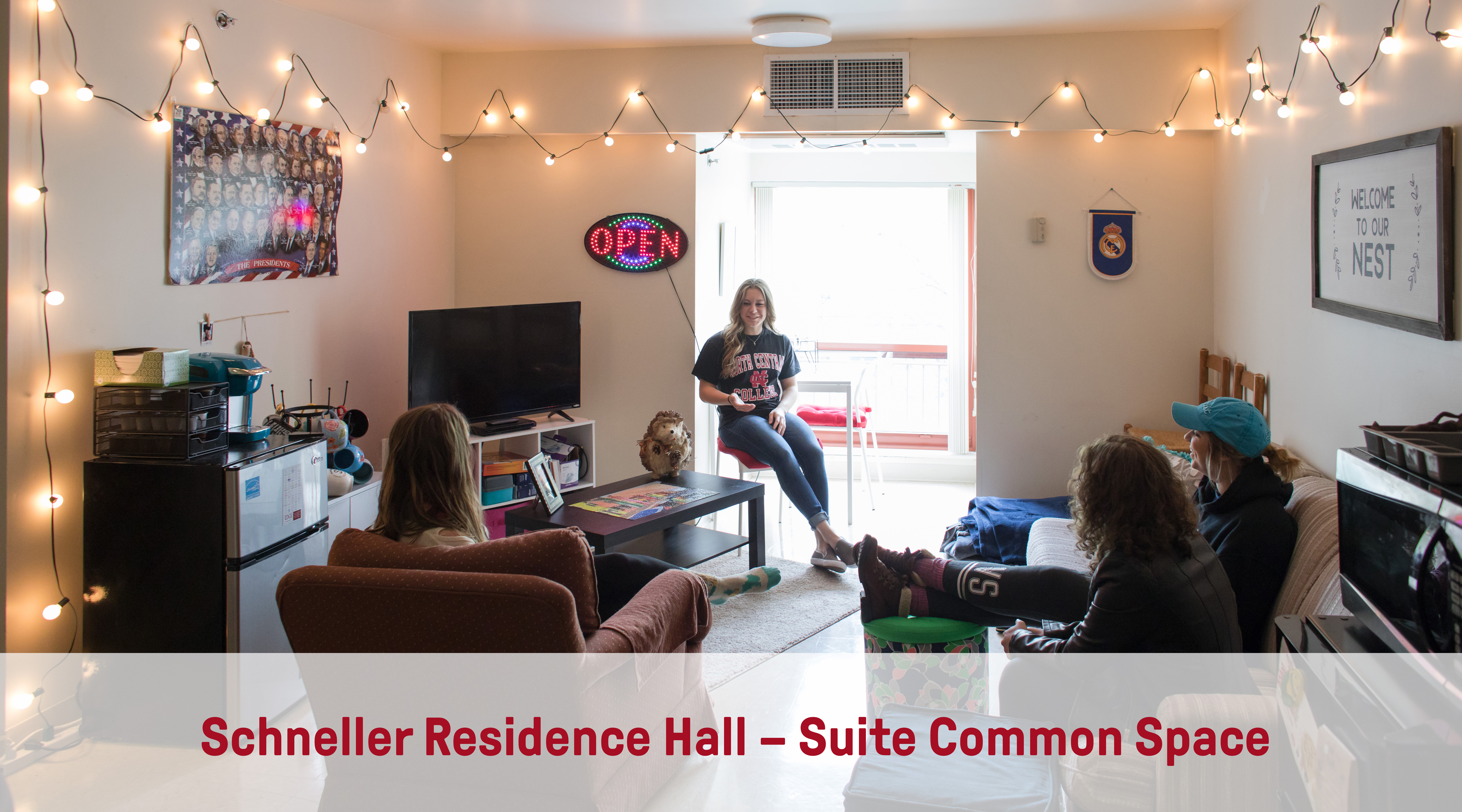 Schneller Residence Hall | Suite Common Space