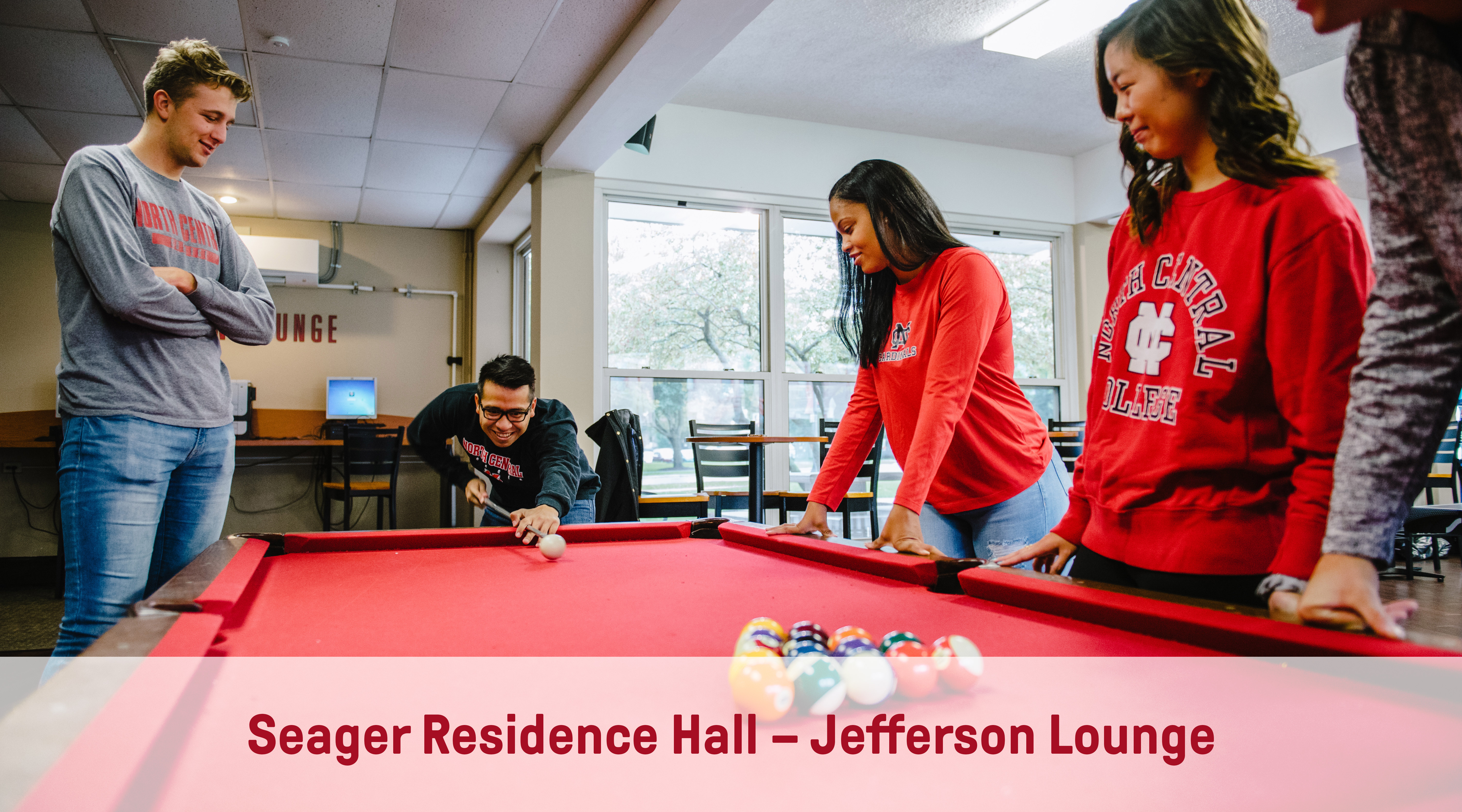 Seager Residence Hall | Jefferson Lounge