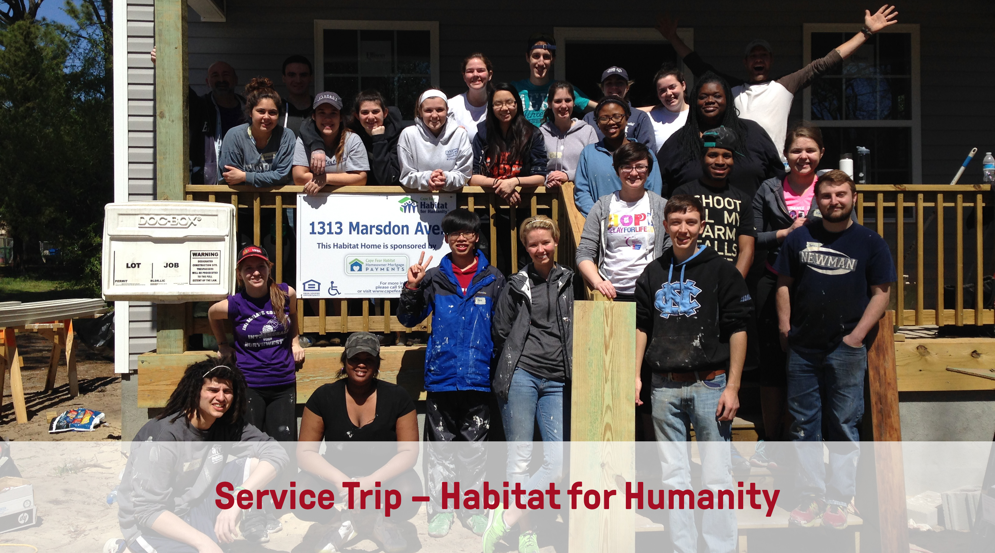 Service Trip | Habitat for Humanity