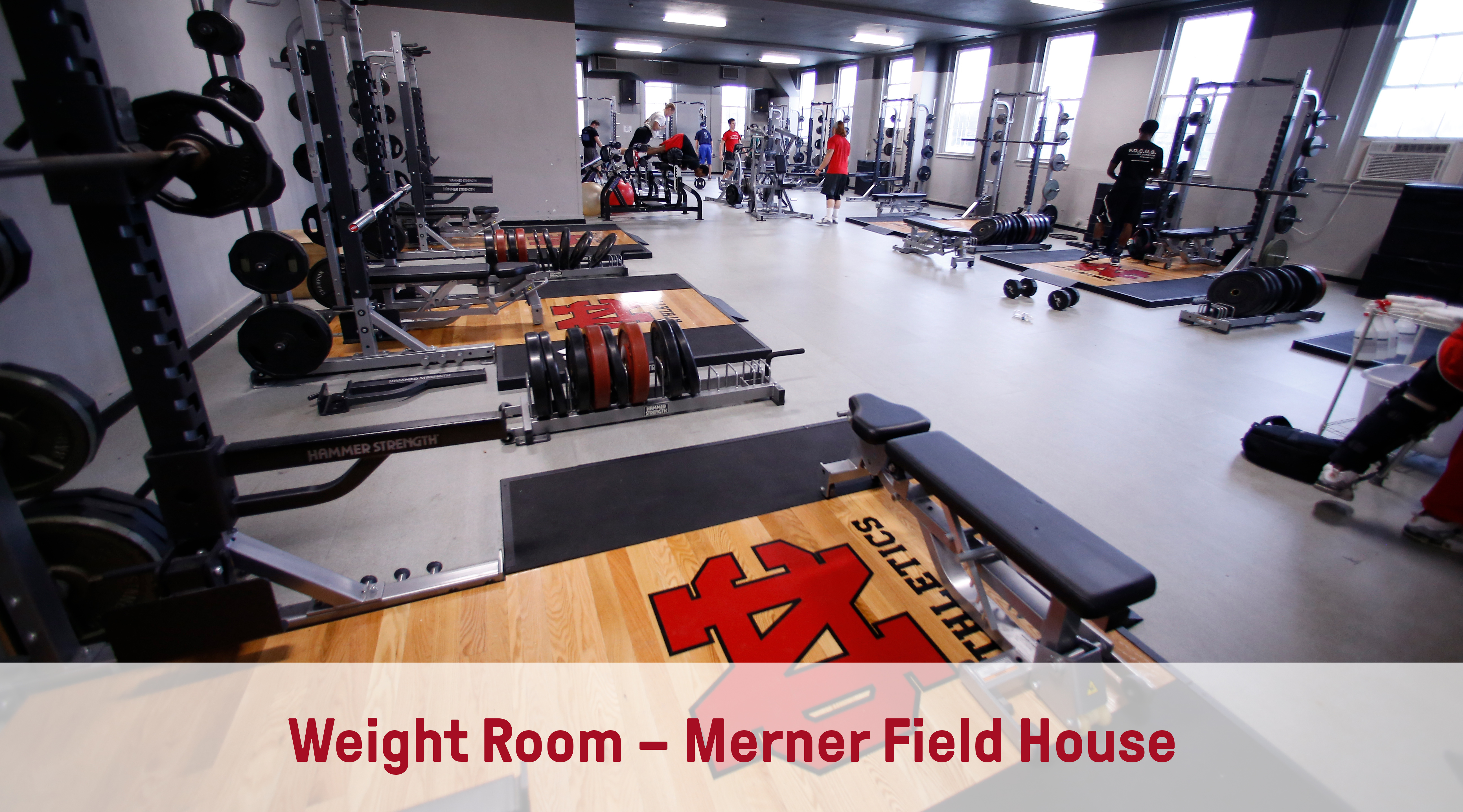 Weight Room – Merner Field House