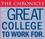2012 Great College to Work for