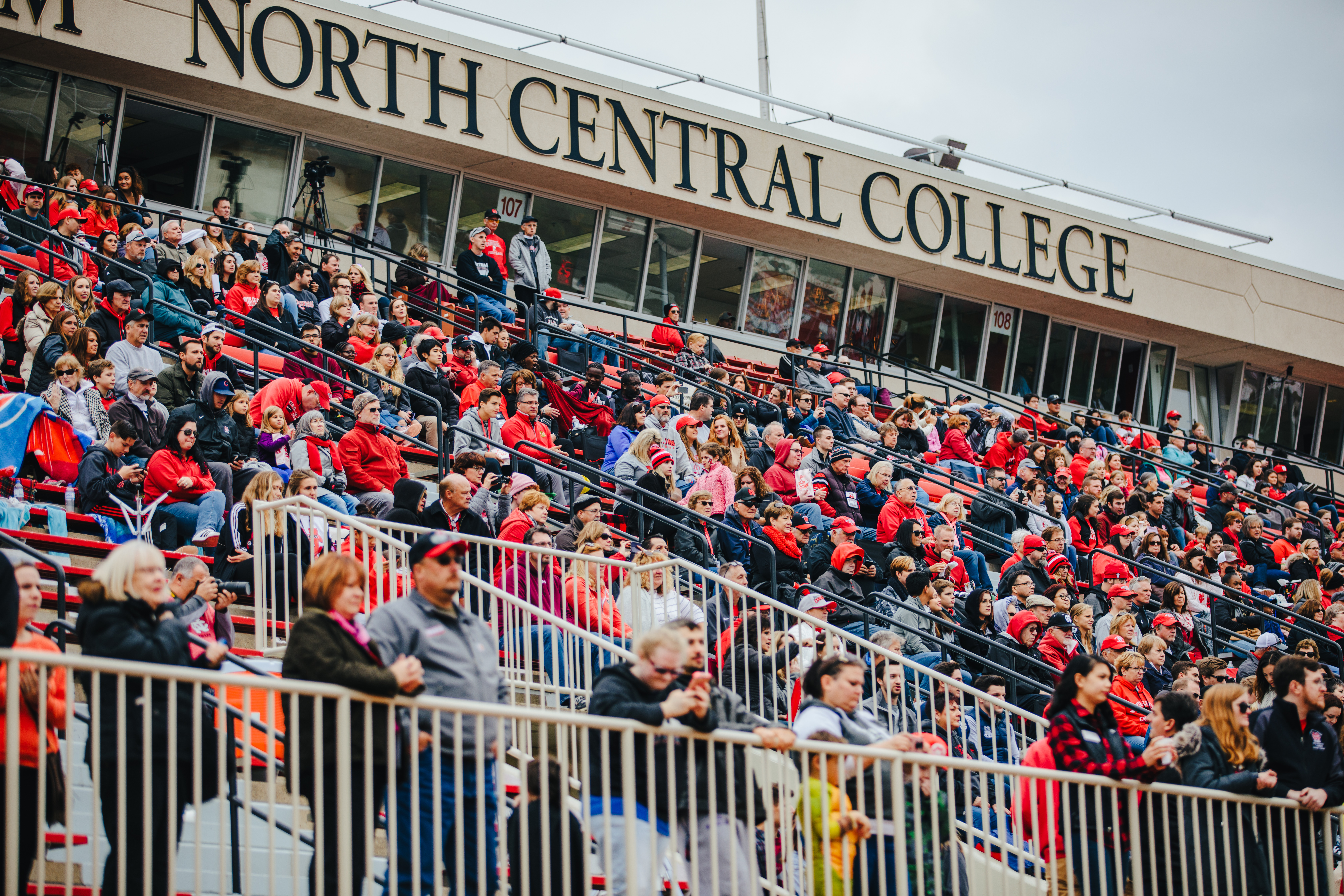 north central college football  game