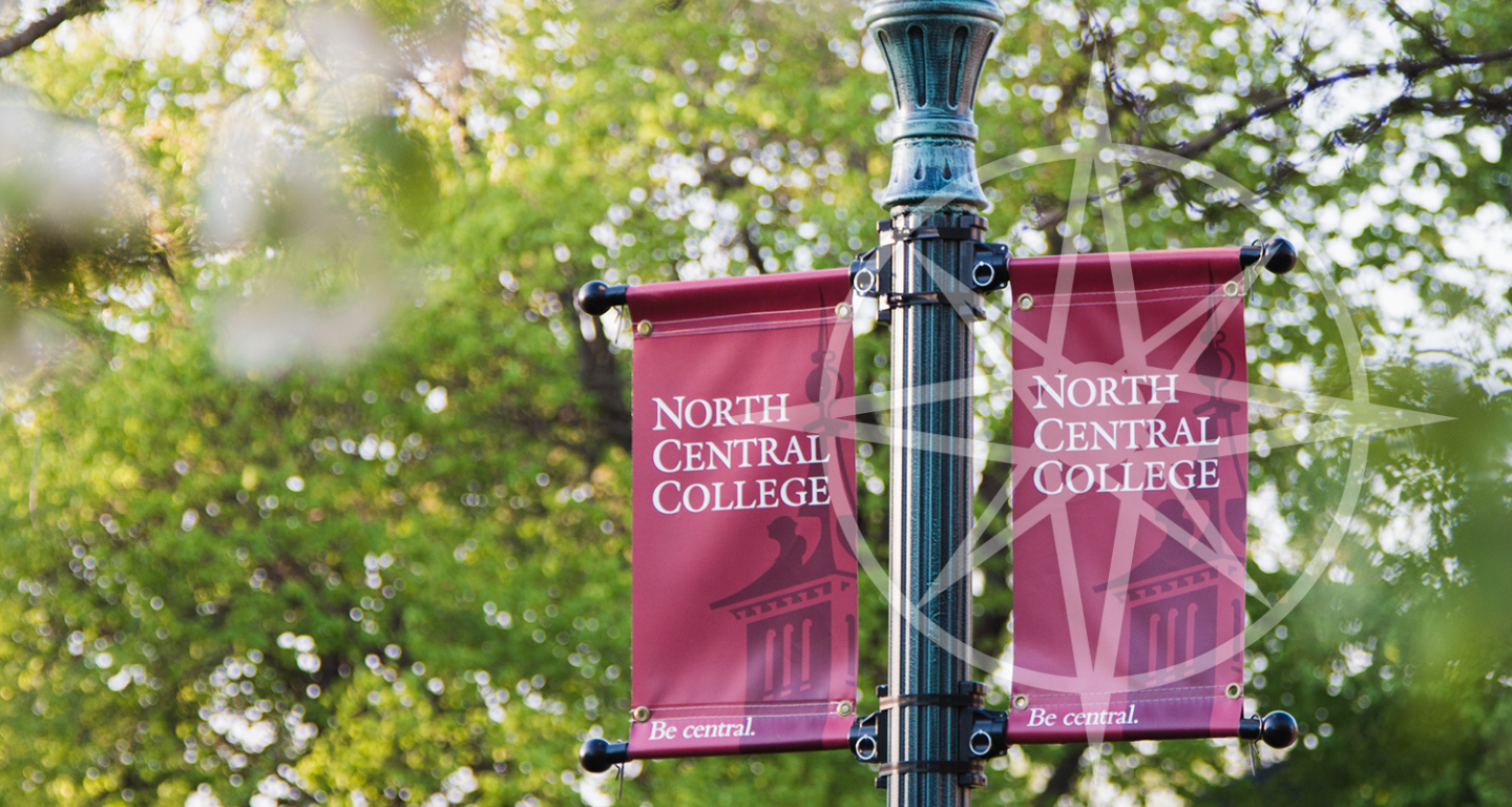 North Central College Campus Signs