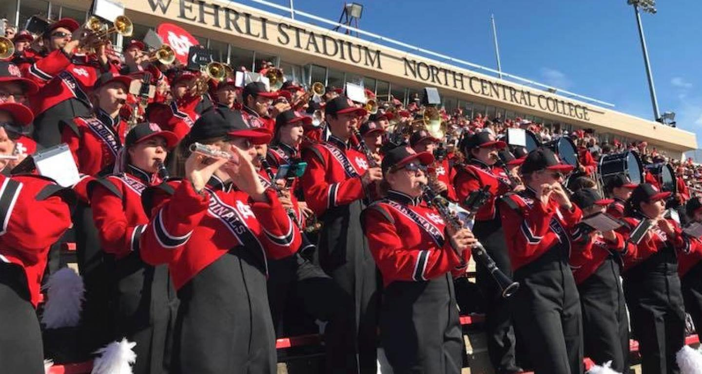 Cardinal Marching Band | North Central College