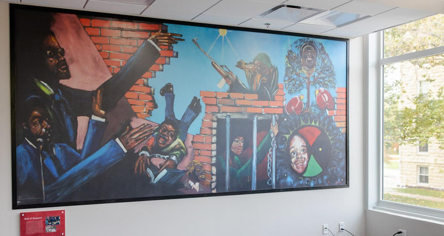Multicultural Affairs mural