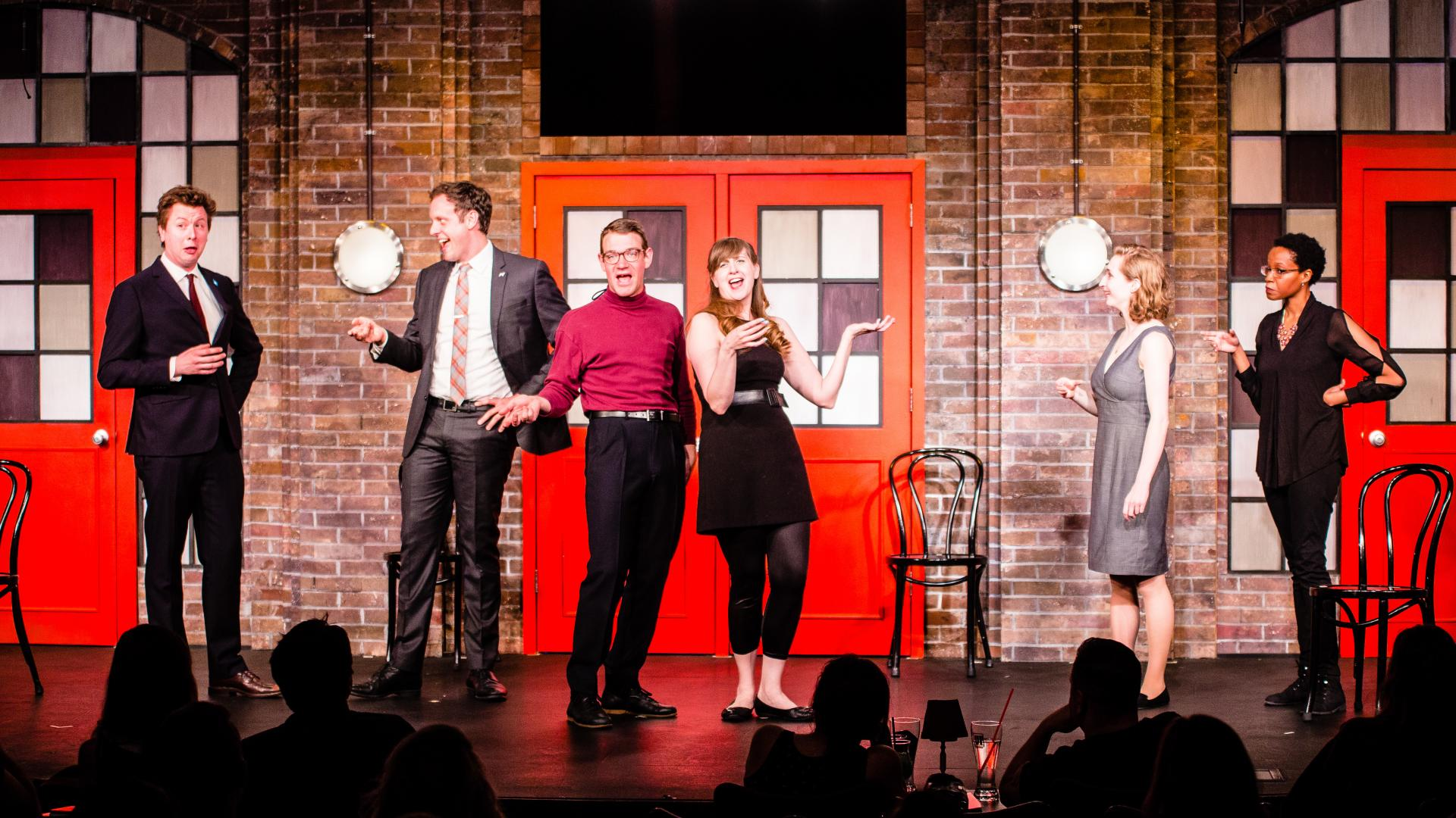 Enjoy lots of laughs with the Best of Second City at North Central College