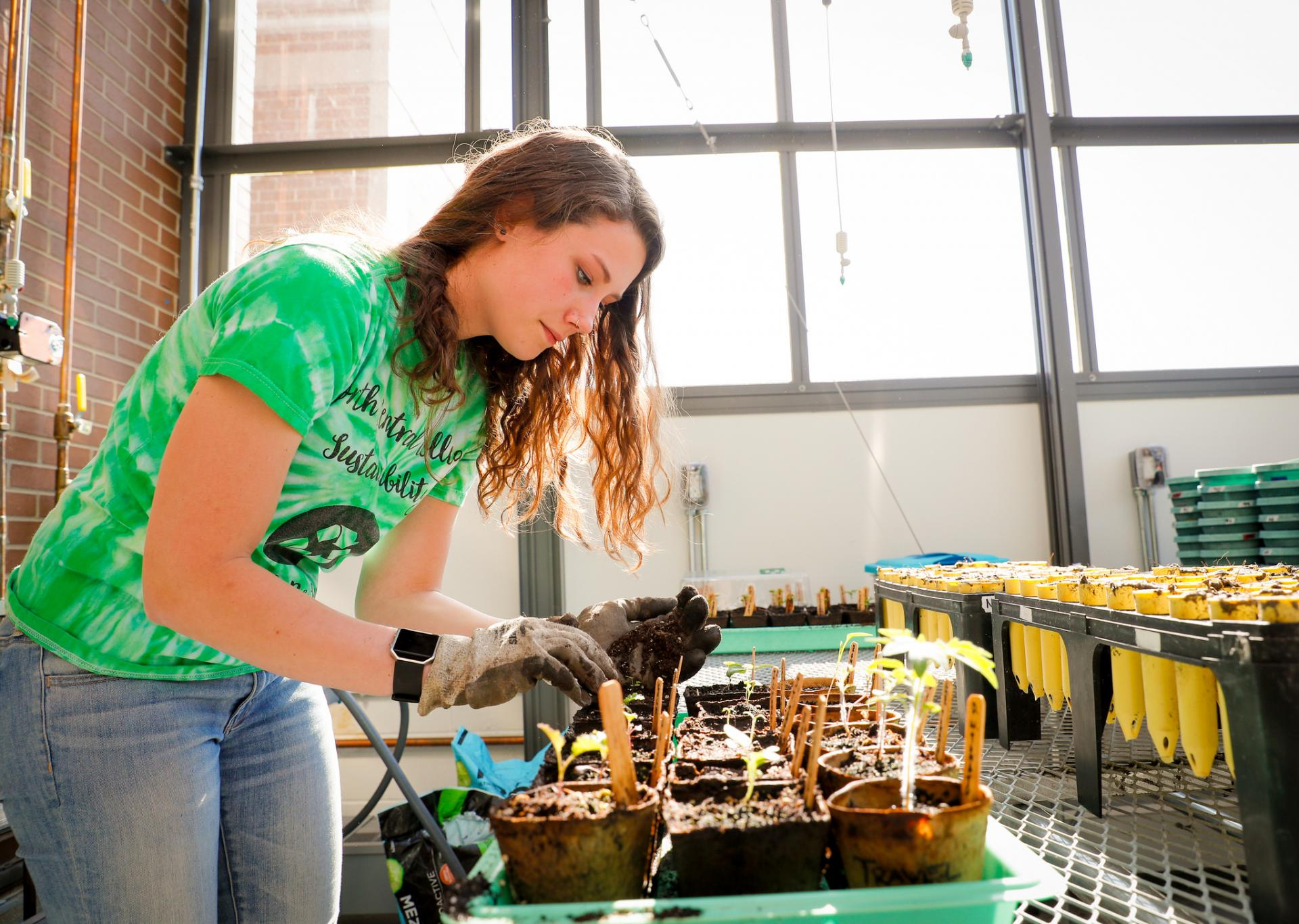 Environmental studies major Anna Halverson '20