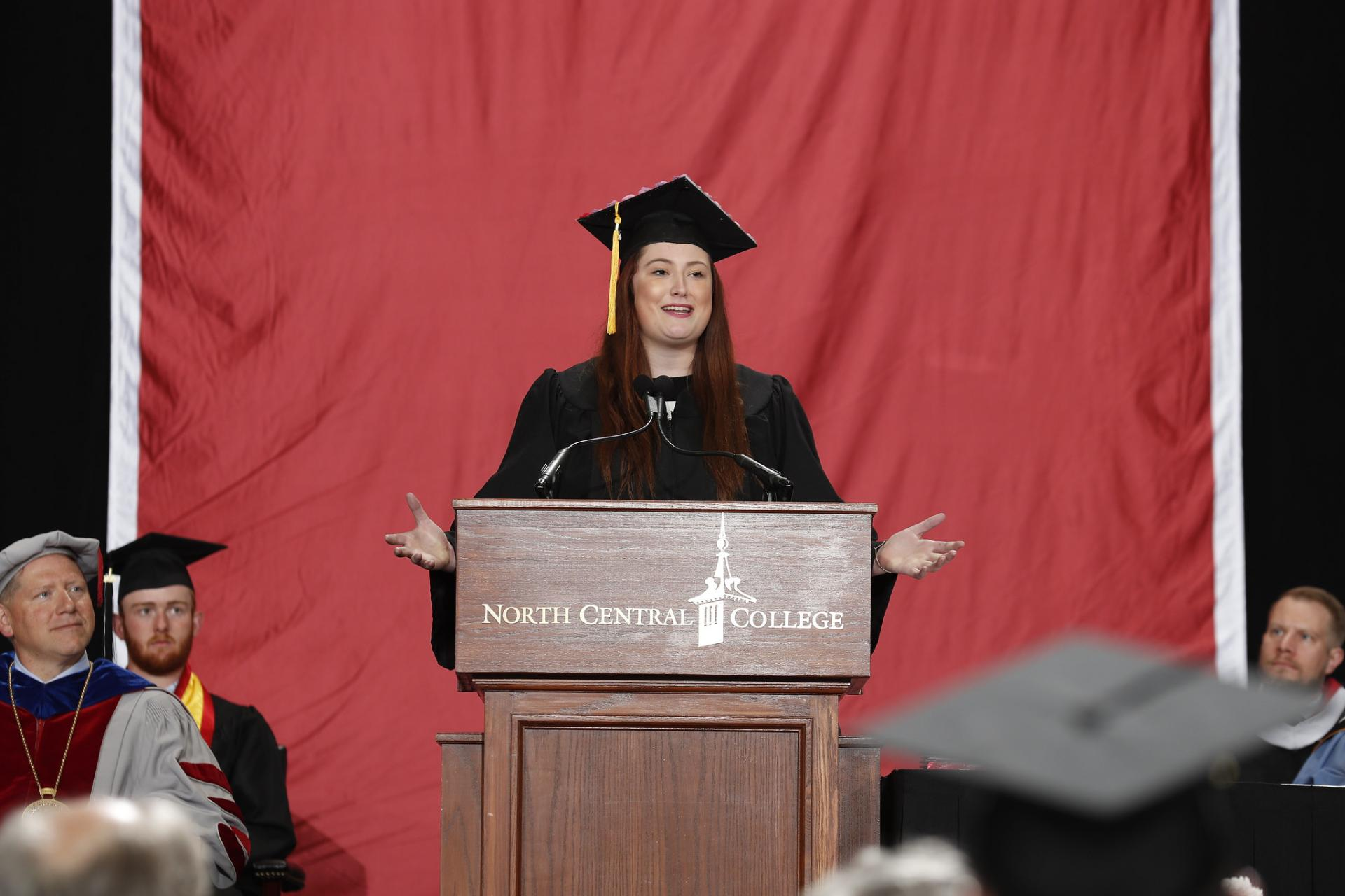 North Central College Commencement speaker Norah Flaherty.