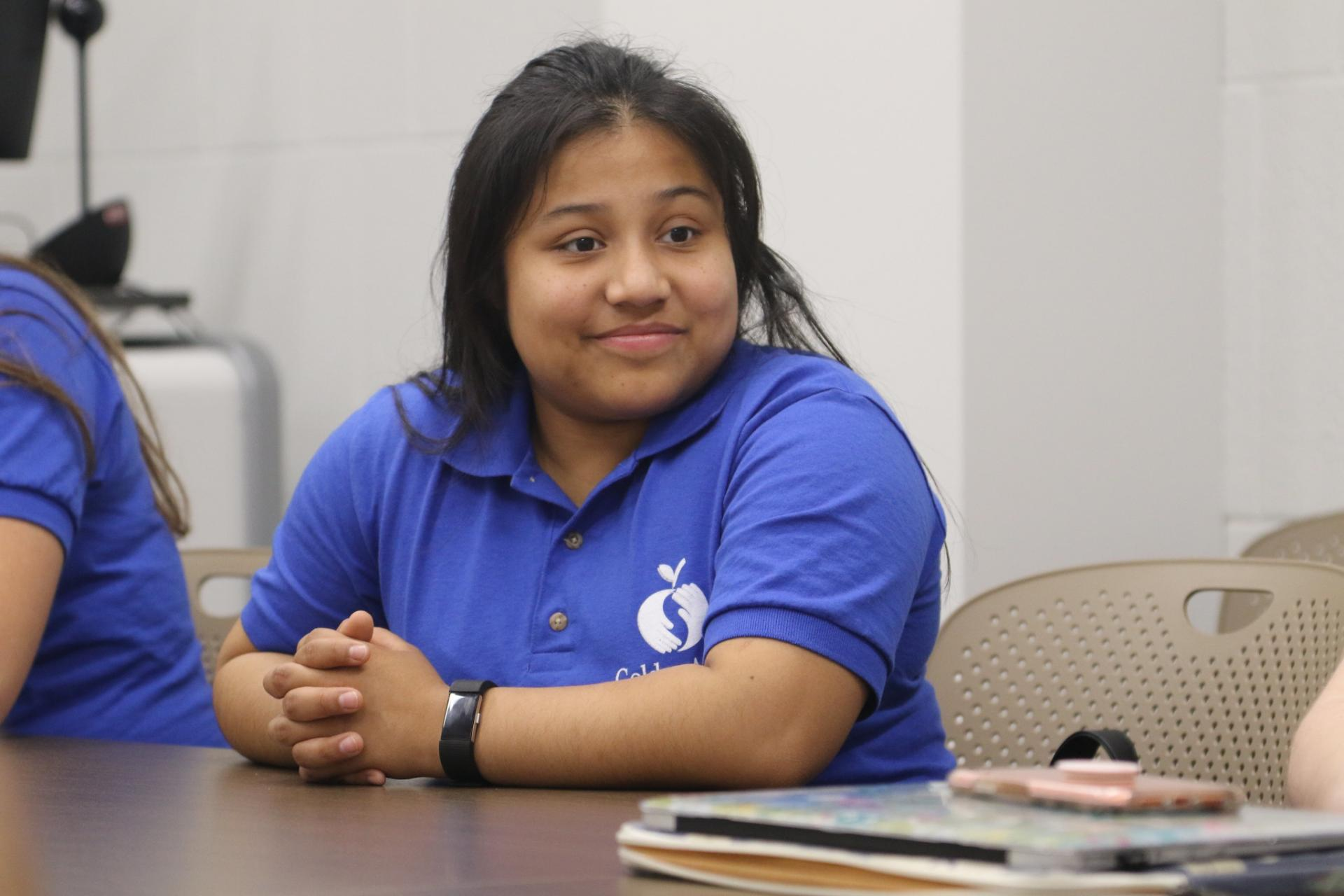North Central College student and Golden Apple Scholar Kaylee Borja.