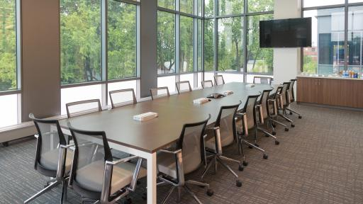 Conference room in Wentz Science Center