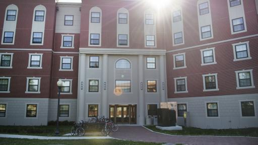 New Residence Hall Entrance