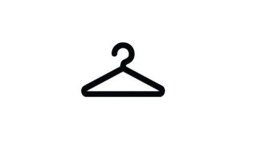 cloth hanger icon