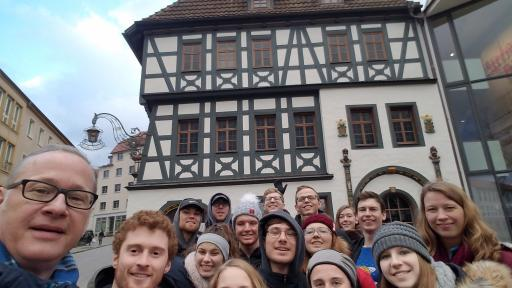 Education abroad trip to Germany
