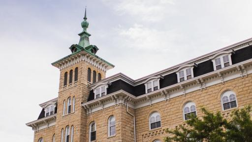 Old Main on North Central College campus