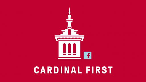 NCC tower logo- cardinal first