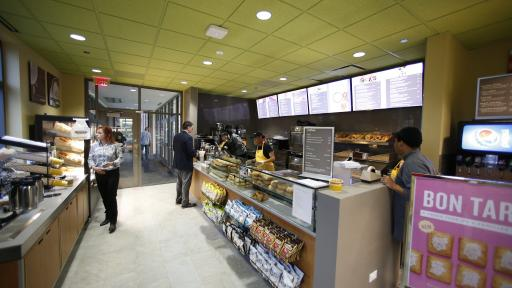 au bon pain at wentz science center