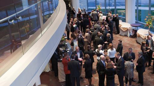 wentz concert hall event reception